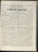 L'echo De Courtrai 1858-12-19