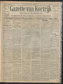 Gazette Van Kortrijk 1909-10-03