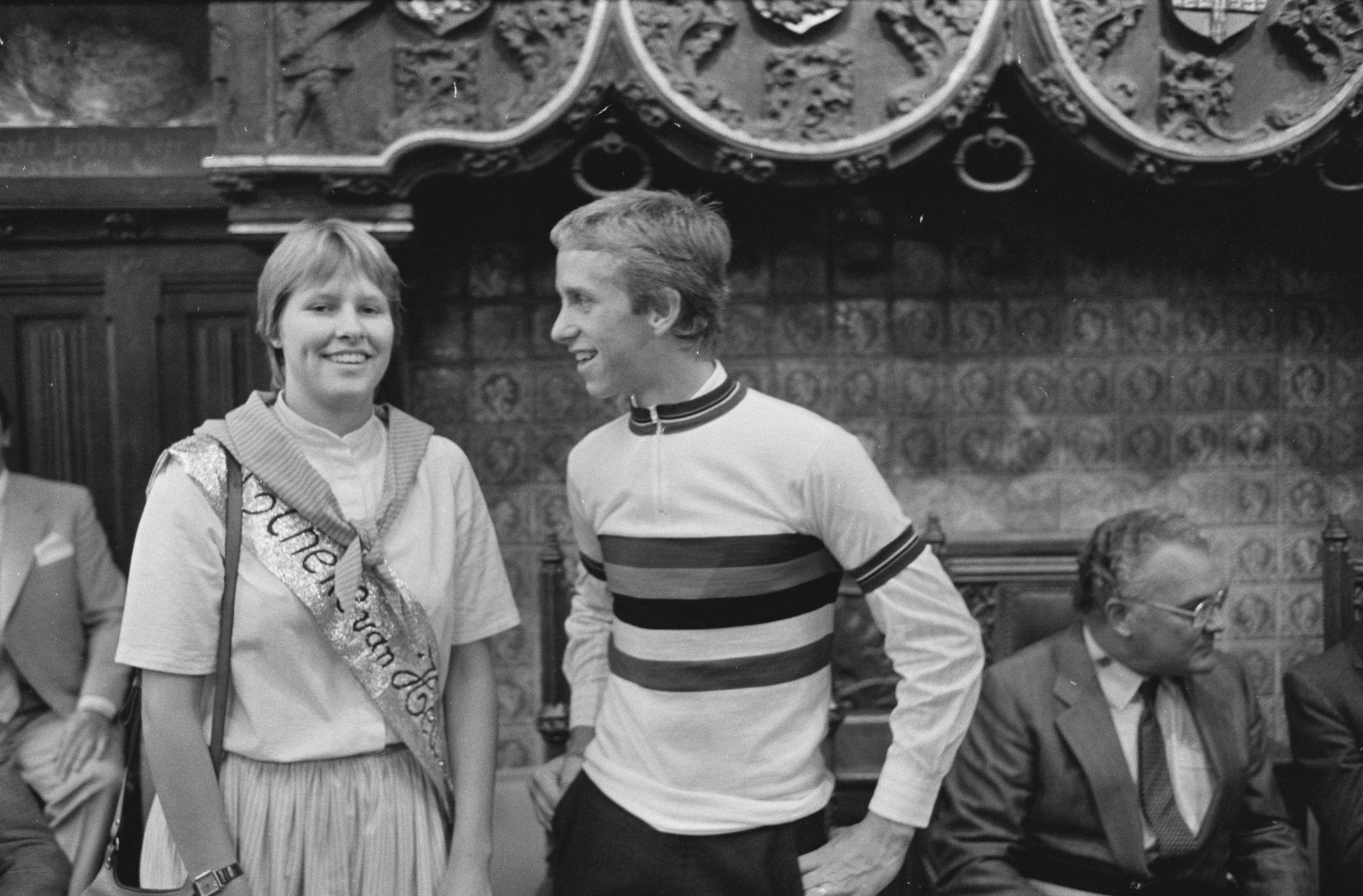 Greg LeMond en Tineke van Heule