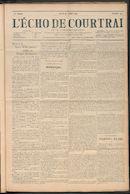 L'echo De Courtrai 1911-07-27