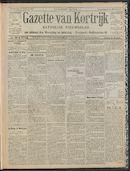 Gazette Van Kortrijk 1909-10-21