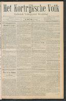 Het Kortrijksche Volk 1911-02-19