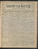 Gazette Van Kortrijk 1911-07-30