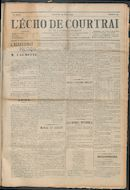 L'echo De Courtrai 1914-03-22