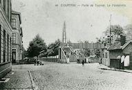 Passerelle Doorniksestraat 1881