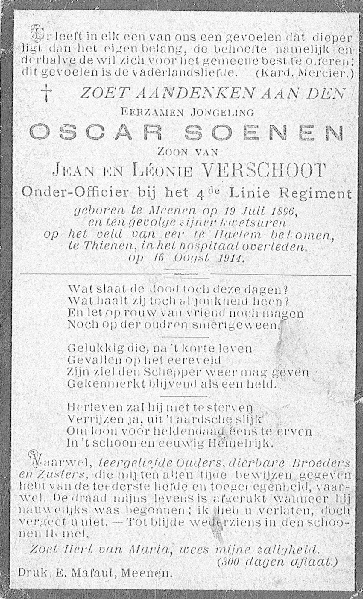 Oscar Soenen