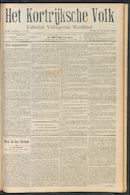 Het Kortrijksche Volk 1910-09-25 p1