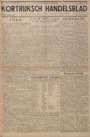 Kortrijksch Handelsblad 10 januari 1945 Nr3 p1