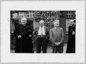 Westflandrica - Stijn Streuvels met een gezelschap uit het college van Tielt