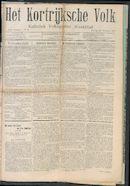 Het Kortrijksche Volk 1907-11-24