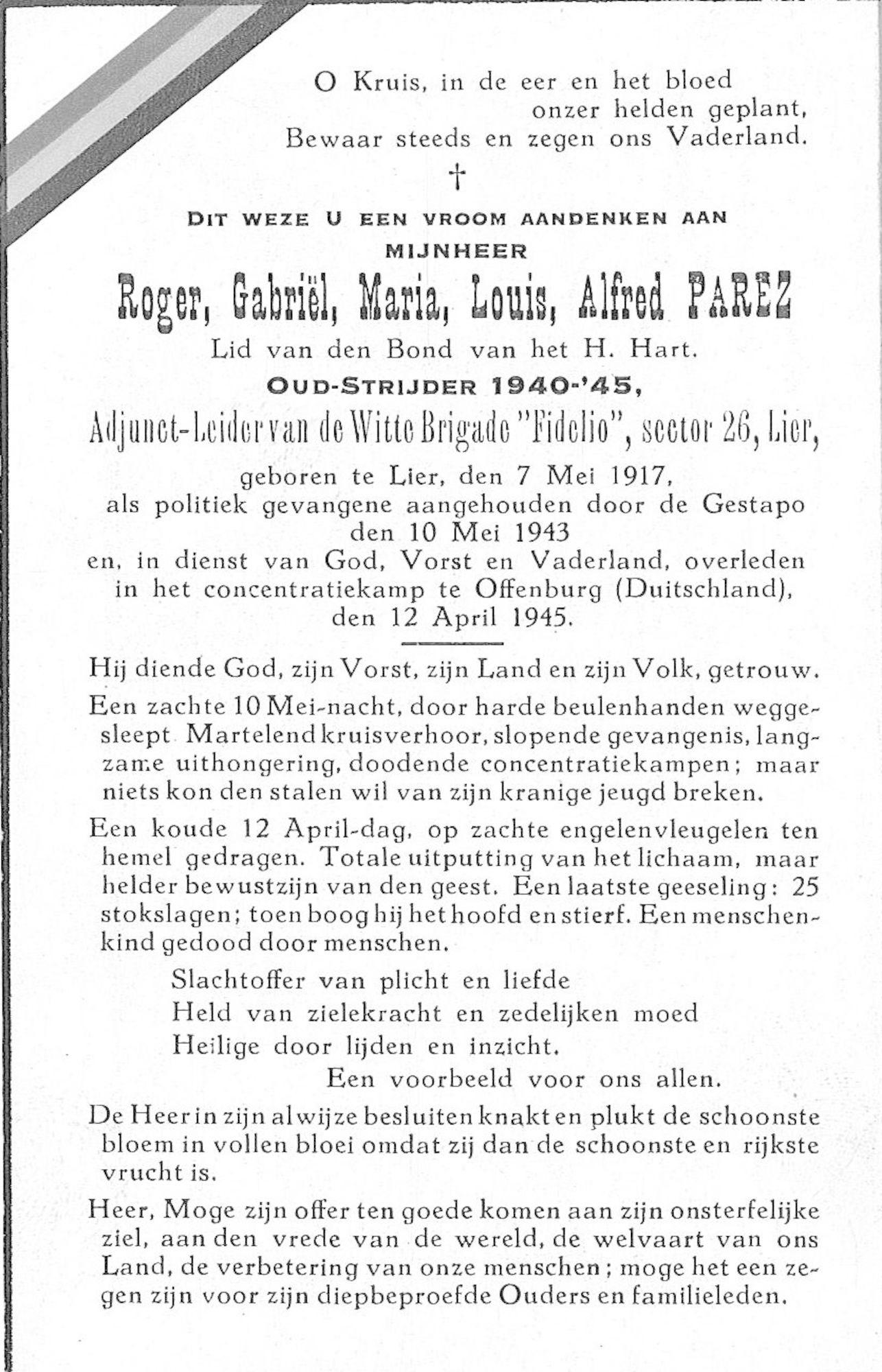 Roger-Gabriël-Maria-Louis-Alfred Parez