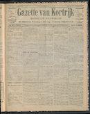 Gazette Van Kortrijk 1911-10-29