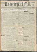Het Kortrijksche Volk 1931-10-18