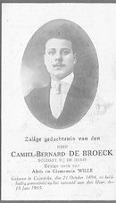 Camiel-Bernard De Broeck