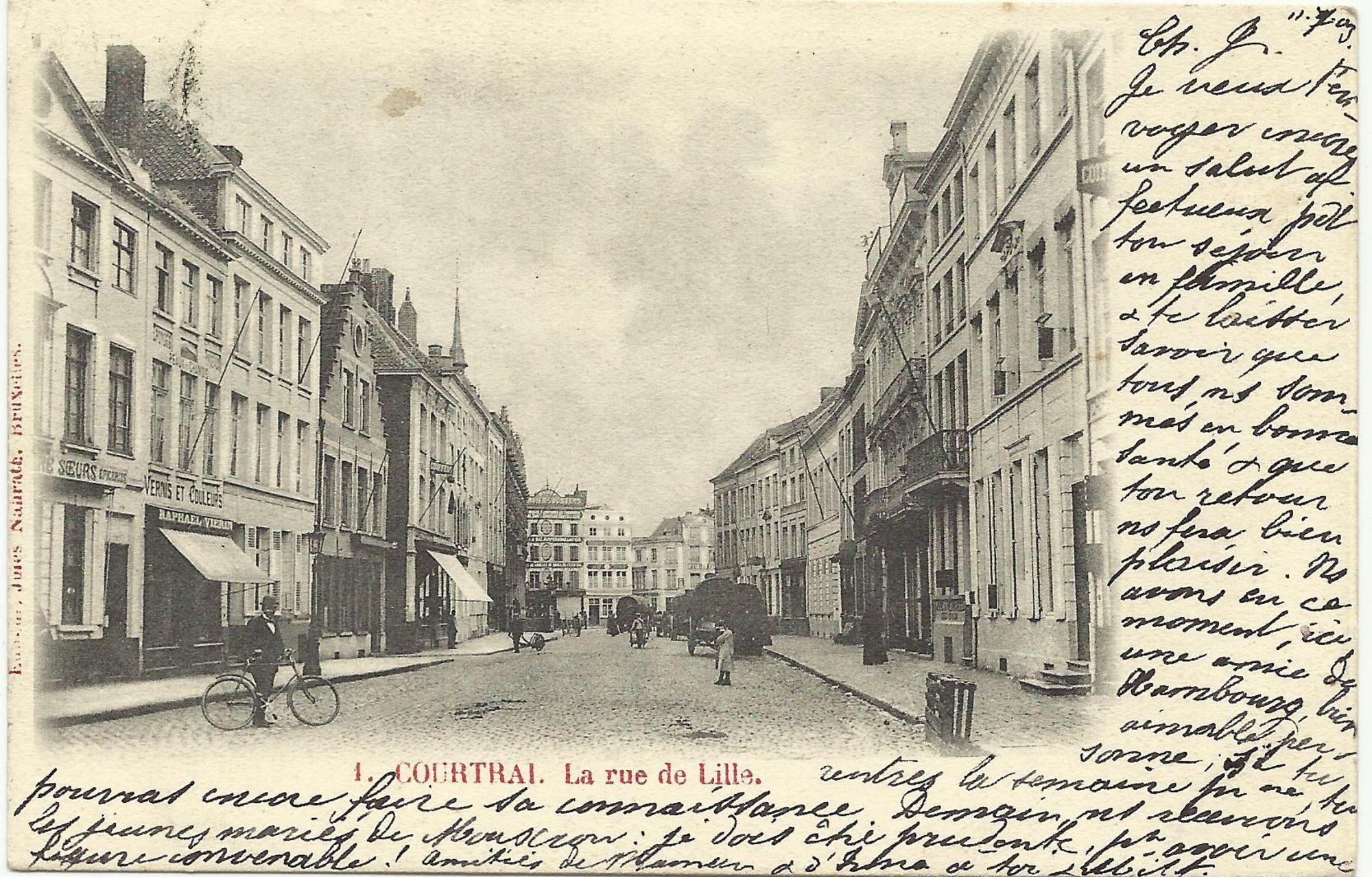 Rijselstraat of Rijselsestraat