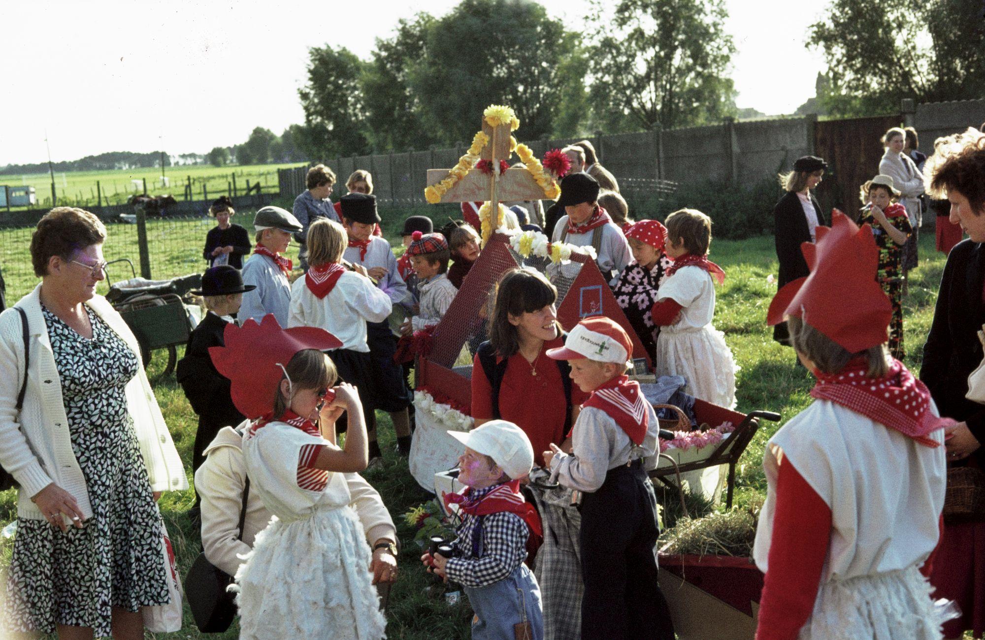 Kinderstoet Aalbeke 1979