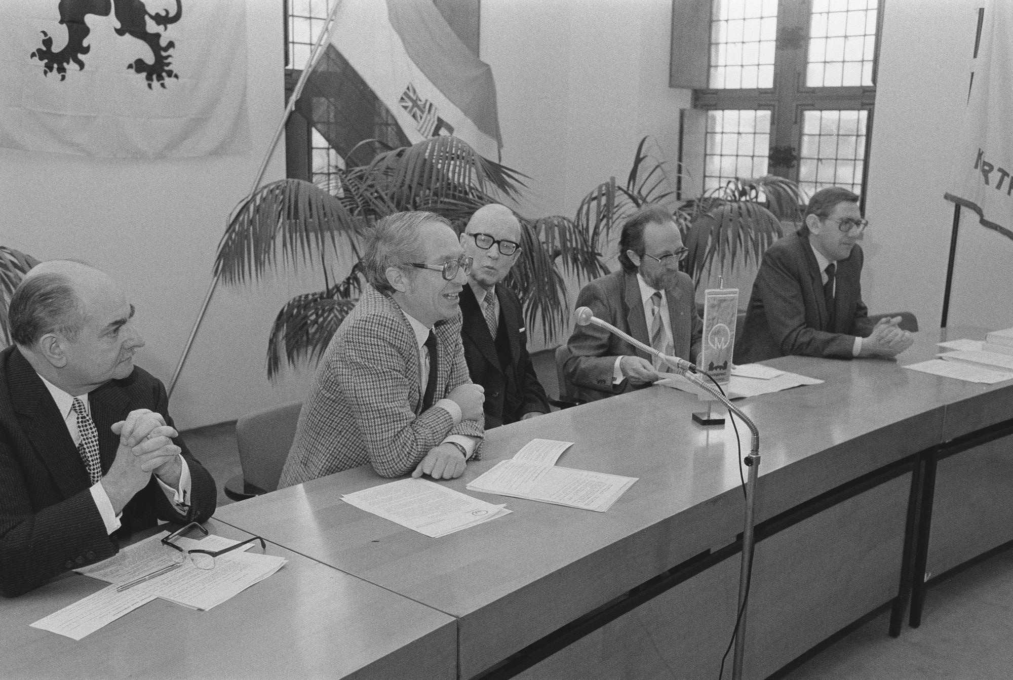 Uitreiking André Demedtsprijs 1981
