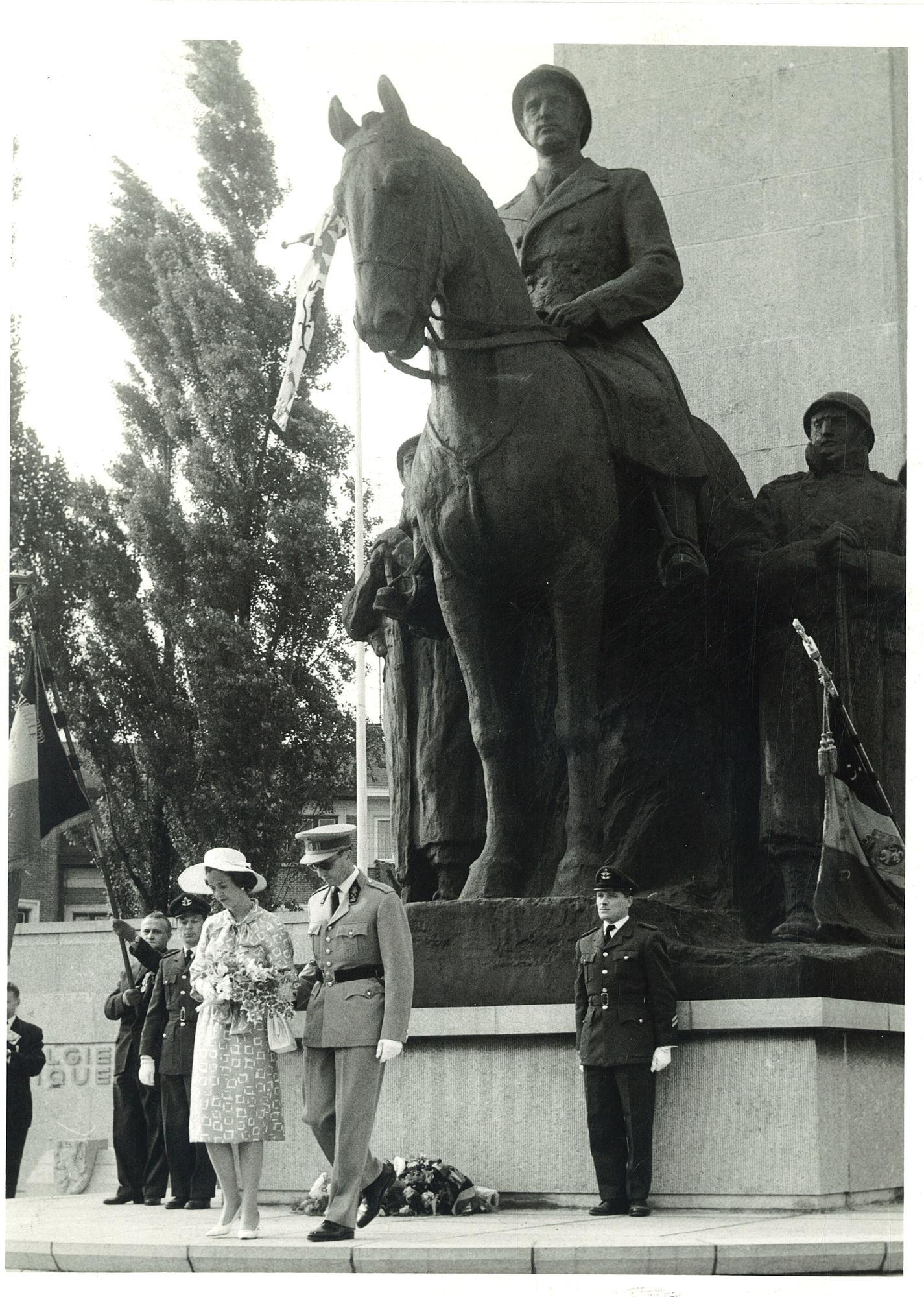 Nationaal Leiemonument met Leopold III