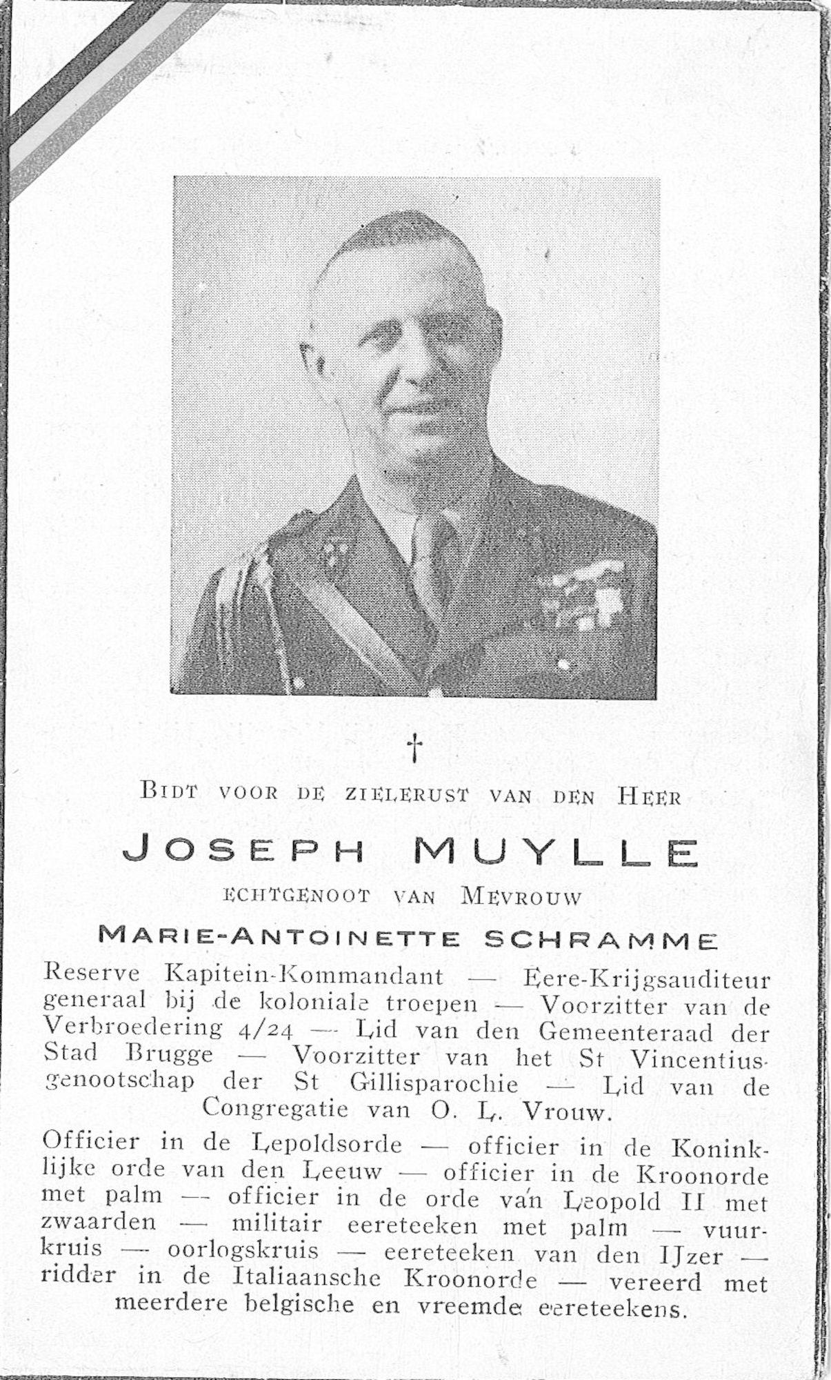 Joseph Muylle