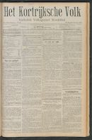 Het Kortrijksche Volk 1911-10-29