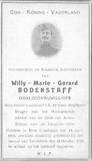 Willy-Marie-Gerard Bodenstaff