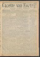 Gazette Van Kortrijk 1917-01-13