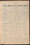 L'echo De Courtrai 1911-06-22