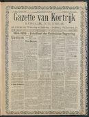 Gazette Van Kortrijk 1909-10-17