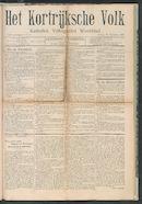 Het Kortrijksche Volk 1907-09-15