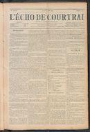 L'echo De Courtrai 1911-06-15