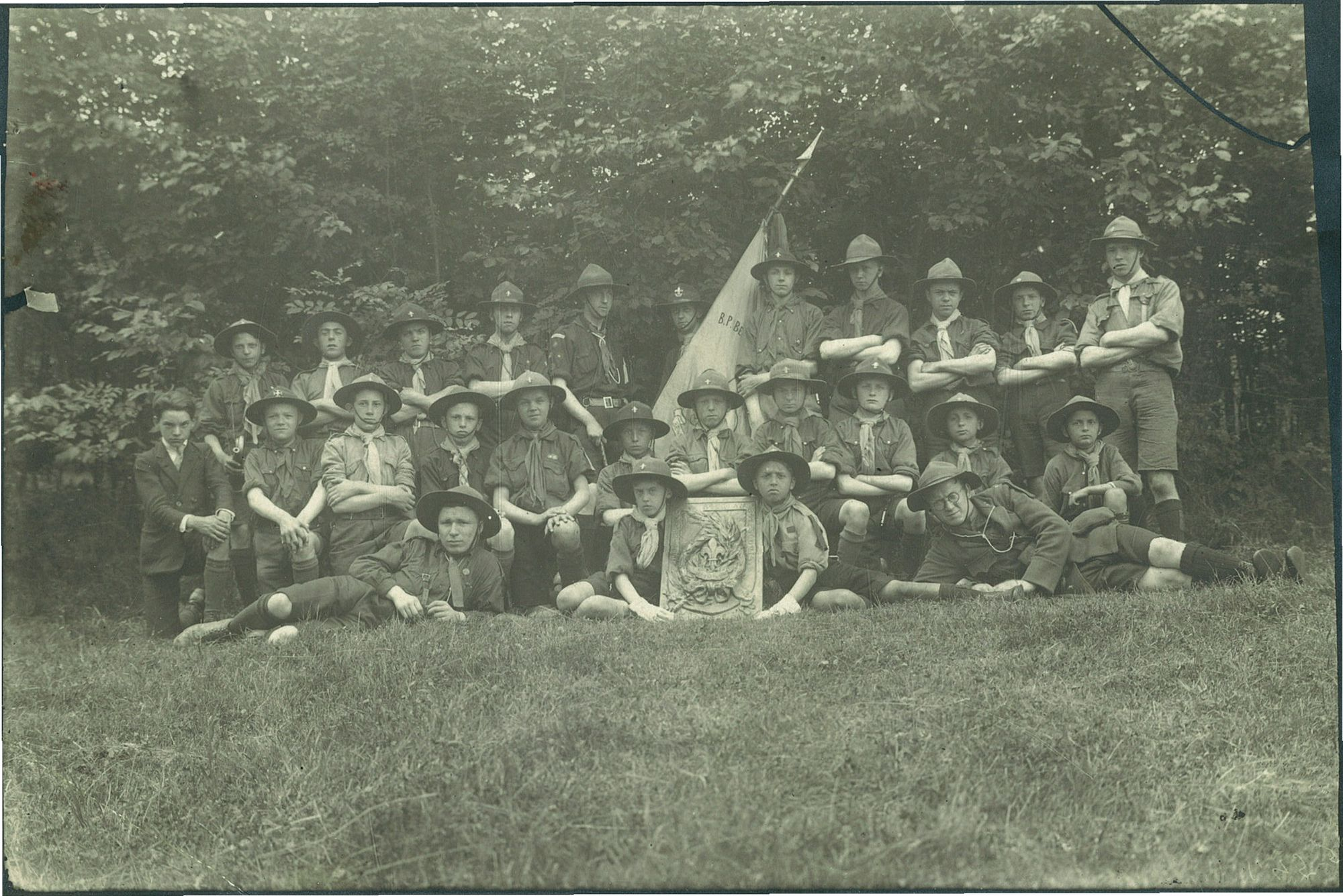 Scouts Baden-Powell ca.1919