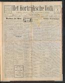 Het Kortrijksche Volk 1926-08-01