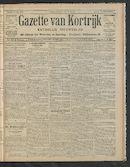 Gazette Van Kortrijk 1910-07-17