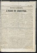L'echo De Courtrai 1861-09-08