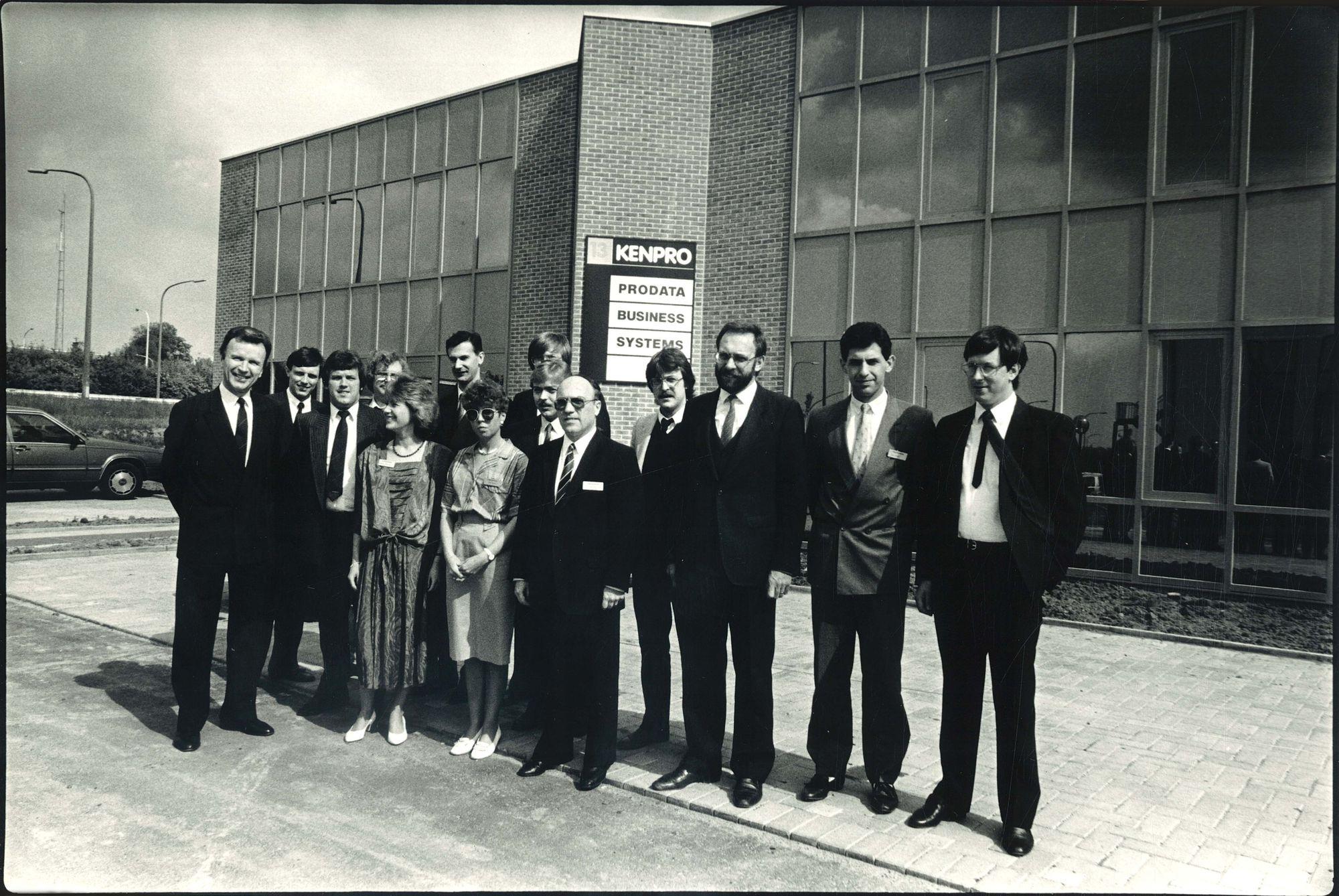 Kenpro verlaat Poperinge voor Kortrijk 1987