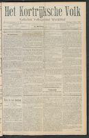 Het Kortrijksche Volk 1911-03-05