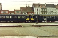 Treinen in station