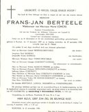 Frans-Jan Berteele