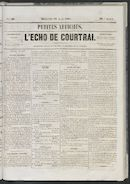 L'echo De Courtrai 1861-08-18