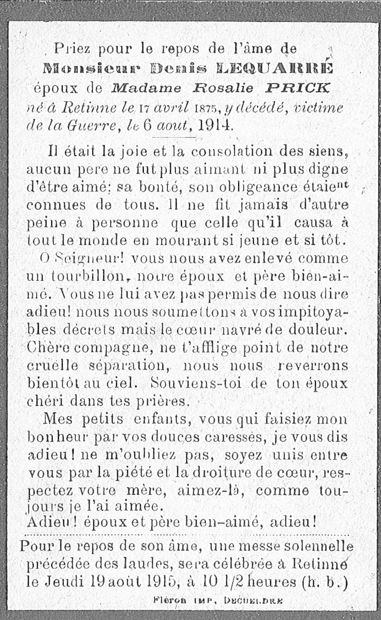 Denis Lequarré
