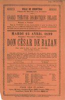 Paasfoor 1899: opvoering van