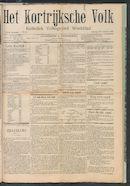 Het Kortrijksche Volk 1907-10-27
