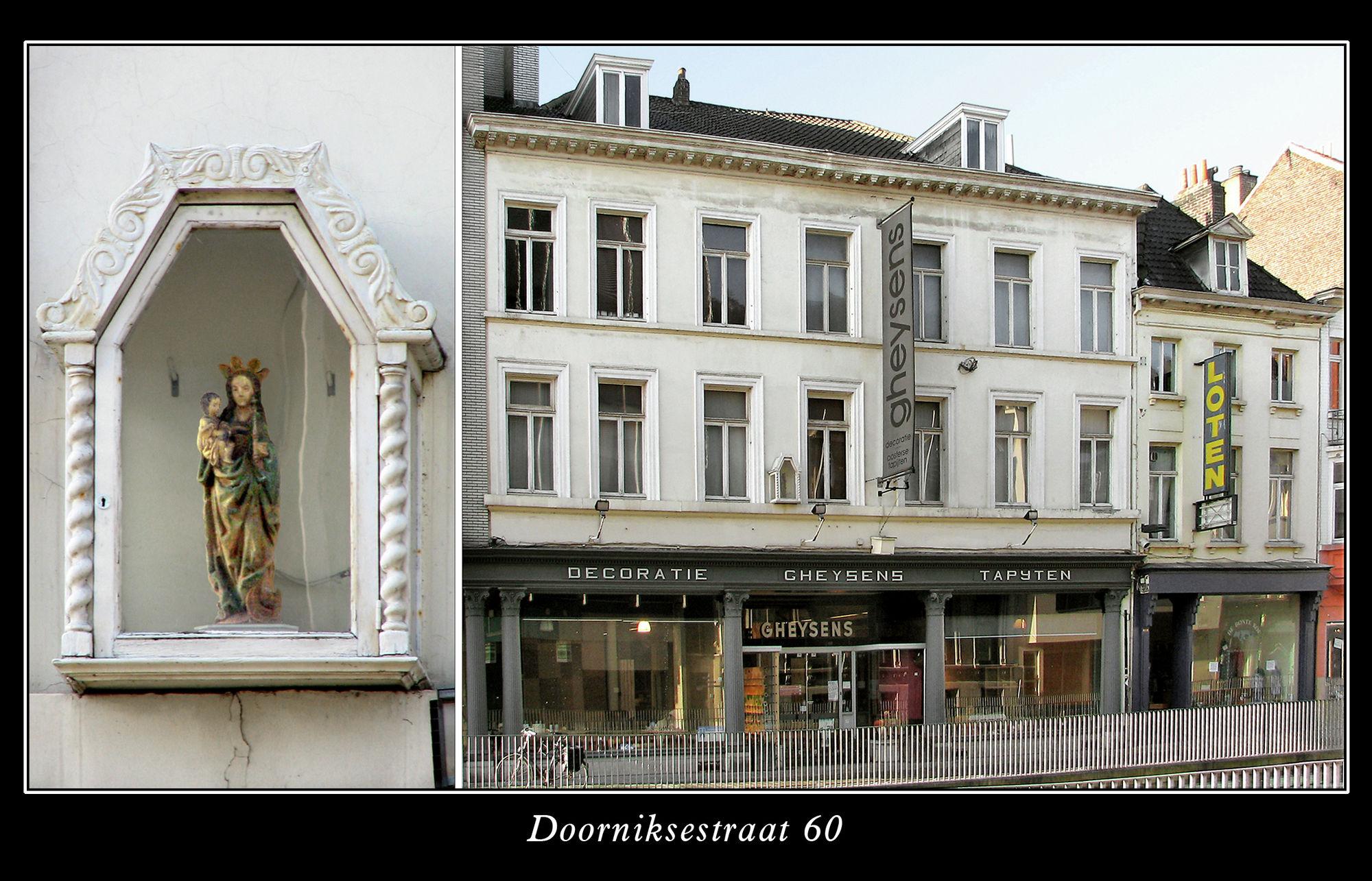 Muurkapel Doorniksestraat 60