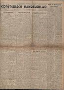 Kortrijksch Handelsblad 4 oktober 1946 Nr80 p1