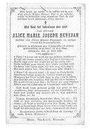 Alice-Marie-Joseph Nevejan.