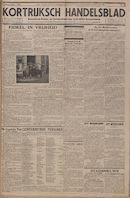 Kortrijksch Handelsblad 3 november 1944 Nr8 p1