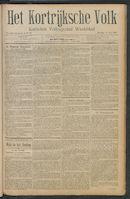 Het Kortrijksche Volk 1911-05-14 p1