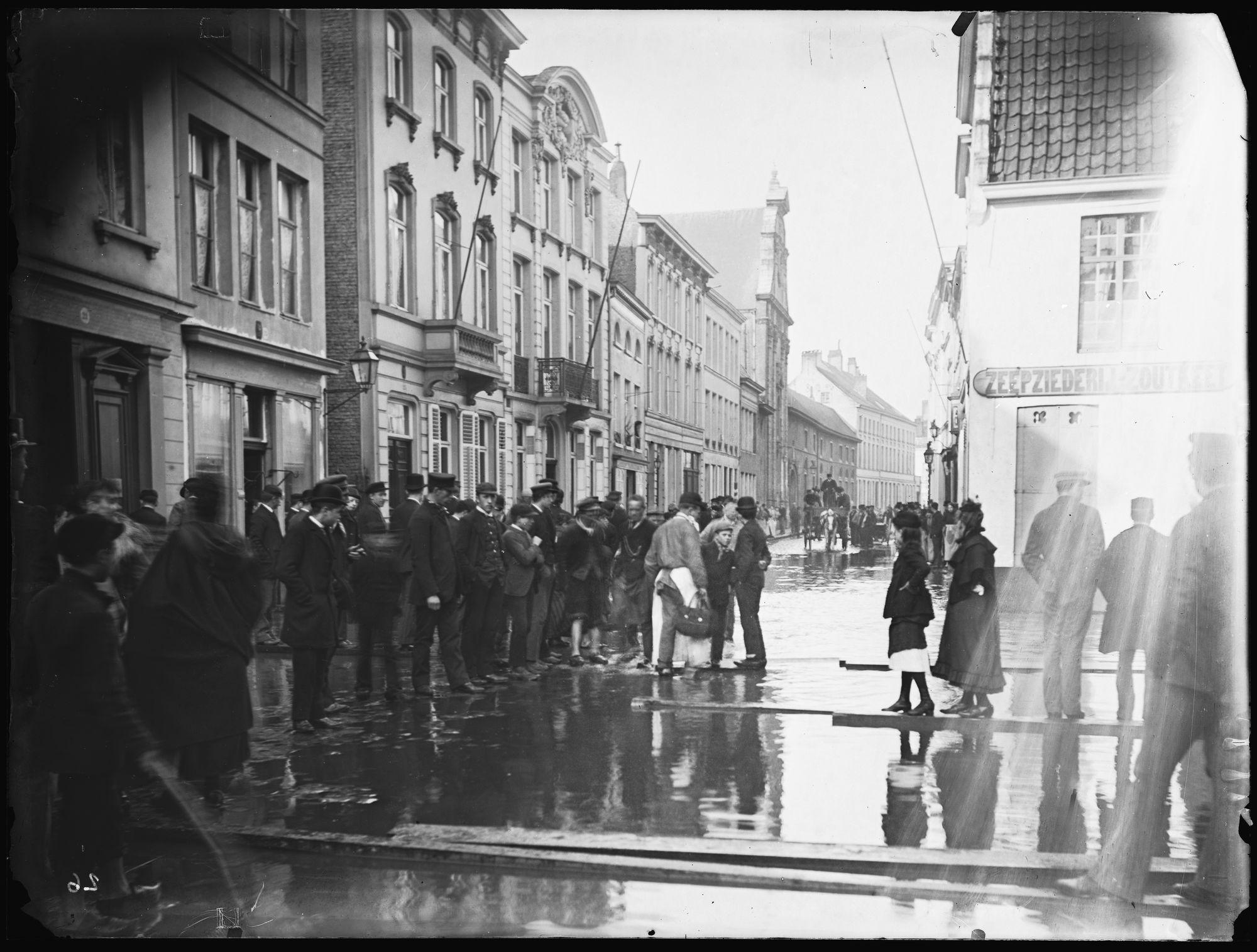Budastraat in 1894