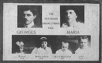 Georges Passchier, Maria De Brabandere, Robert, Marie-Jeanne, Marie-Madeleine en Josef Passchier