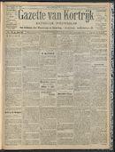 Gazette Van Kortrijk 1909-07-11